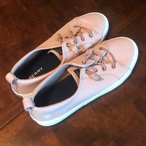 Pink Sherry Boat Shoes